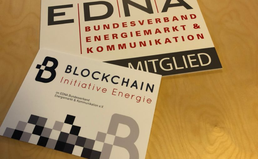 EDNA und Blockchain-Initiative Energie auf der E-world 2018