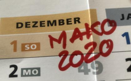 MaKo 2020 - Ab Dezember 2019 geht es los