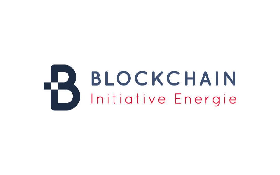 Logo der Blockchain Initiative Energie