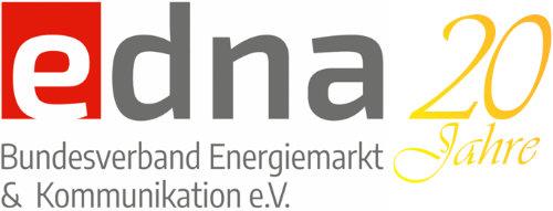 edna Logo zum 20 jährigen Jubiläum