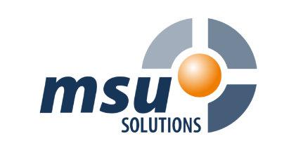 Logo der msu solutions GmbH