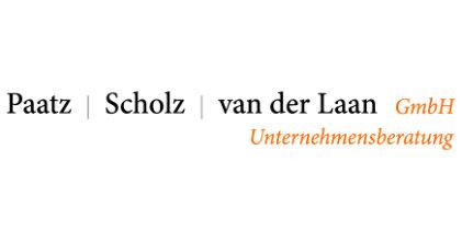 Logo der Paatz Scholz van der Laan GmbH